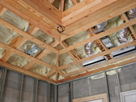properly setup non-ventilated attic and soffits
